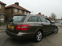 !!! MERCEDES BENZ E220 2.2 CDI AVANTGARDE AUTOMATIC DIESEL 2010 SAT NAV LEATHERS E CLASS ESTATE