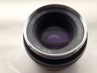 Zeiss Normal 50mm f/1.4 ZE Planar T* Manual Focus Lens