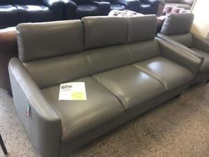 Top Grain Leather Sofa Made In Italy