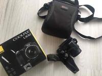 Nikon coolpix L830 with lowepro bag