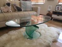 For sale coffee table £ 100 and floor lamp £60