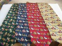 Job lot of 105 new patterned silk ties - great Fathers day sales. £8