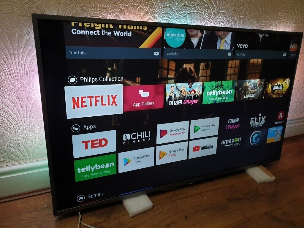 Philips 55PUS7303/12 55-Inch 4K Ultra HD Android Smart TV with HDR Plus and  Ambilight 3-sided | in Salford, Manchester | Gumtree