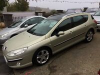 Peugeot 407 SW estate - TOP OF THE RANGE Diesel with only 91000 miles in excellent condition