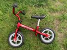 Used balance bike - Chicco Red Bullet