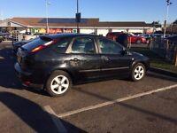 very good ford focus 2005 ,1.6 petrol ,manual ,80600
