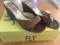Size 7 Fly of London sandals