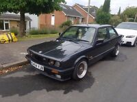 BMW e30 320i 1989 - 2 Door, Leather Seats, Fantastic condition, £3650 O.N.O, not 325i