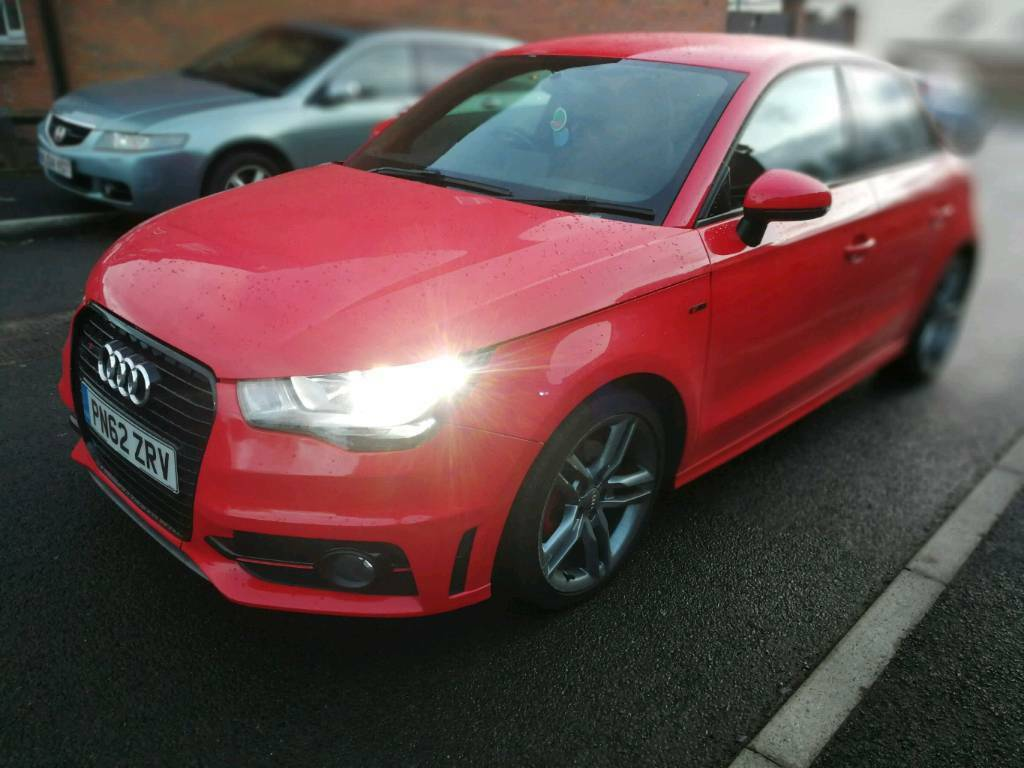 Audi A1 1.6 tdi sport back. Full service history with long MOT £0.00 road tax
