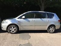 7 seater Toyota Avensis verso . Diesel