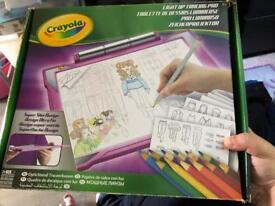 Girls crayola lightup tracer