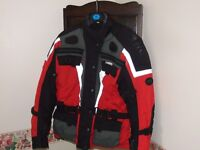 Ladies' Size 18 Fabric Motorcycle Jacket