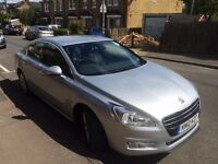 Peugeot 508 1.6 Hdi eco start stop system automatic PCO licence