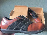 Men's Adidas Golf Shoes - Size 9.5