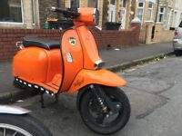 2016 Scomadi TL125 Automatic Scooter