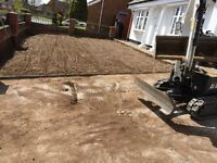 WINTER OFFER DRIVEWAYS DUG AND STONED UP FOR £500.... FOR 50SQM WEST MIDLANDS BLACK COUNTRY WOLVO