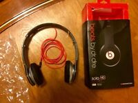 Beats by Dr.Dre HD SOLO MONSTER red/black headphone