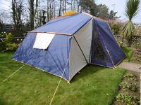 sunncamp APS4000 6 berth tent