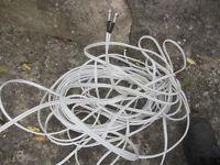 20m of dual coax Satellite Dish Cable