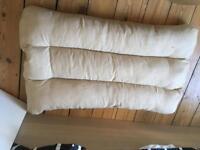 Pet Bed/Cushion - Soft Fleece & Suede - Large 100*65*17CM