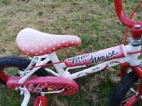 Girls bike 2-4 years Mini Mouse