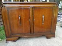 Solid Oak 1950's sideboard
