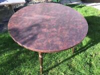 Dinette round table - extremely robust (42inches Diameter)