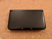 Black 3ds XL with Sky3ds+ (1 pc) R43ds and Charger = 130 Pounds