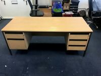 Free Office Furniture - Desk with drawers
