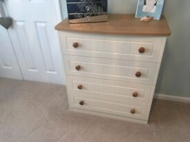 Draws and bedside cabinet
