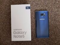 Samsung Galaxy Note 5 Unlocked 32gb in Great condition Boxed (Suffers from pengate) + Speaker