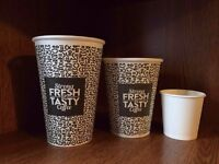 CLEARANCE STOCK BULK BUY of TAKEAWAY CUPS