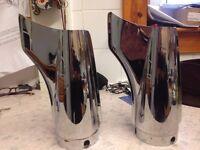 Harley Davidson Exhaust Fishtails