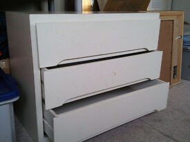 LINDEN WHITEWOOD CHEST OF DRAWERS