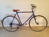 Vintage road racer, classic Puch road bike, ready to ride