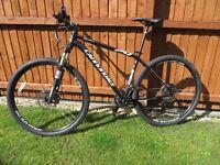 Cannondale trail 2 29 er mountain bike size l plus free helmet
