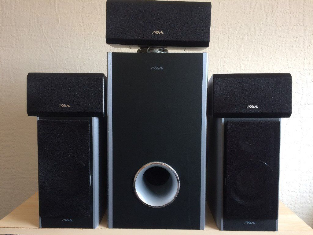 AIVA SSX-VX55, 5.1 HOME CINEMA SPEAKERS, FULLY WORKING, LOUD & CLEAR SOUND, EXCELLENT CONDITION.
