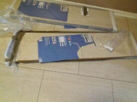 2 boxes of Stone like Travertine Effect Laminate Flooring - 8mm