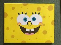 Sponge Bob Canvas