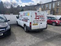 Transit van ,£1495.00 , moted and serviced