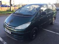 Toyota previa automatic with long mot