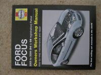 Haynes Ford Focus MK2 service and repair manual 2005-2009 (54 to 09 reg)