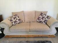 Attractive medium sized sofa