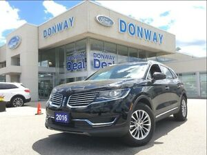"""2016 Lincoln MKX Select   ALL WHEEL DRIVE   LUXURY   LOW KM""""S"""