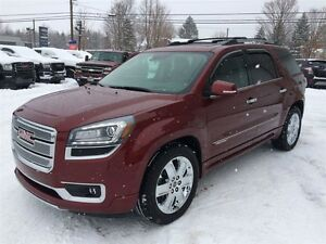 2015 GMC Acadia DENALI+GPS+DVD+CUIR+TOIT OUVRANT PANORAMIQUE
