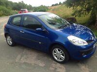 Renault Clio 1.2 16V Expression (blue) 36000 Miles