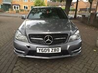 2009 Mercedes C class C220D AMG Sport - 52,000 mileage, Diesel, Automatic, AMG Pack