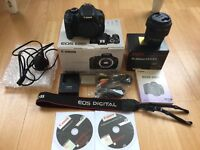 Canon 600d DSLR & Sigma 18-200mm F3.5-6.3 Lens Great
