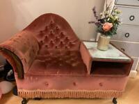 Telephone chair table