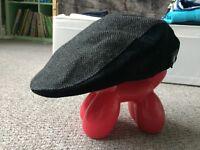 Boys Navy 'Tweed' Cap - Size 2y - £2